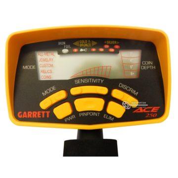Металлоискатель Garrett ACE 250 блок управления