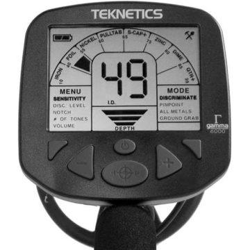 Teknetics Gamma 6000 Дисплей
