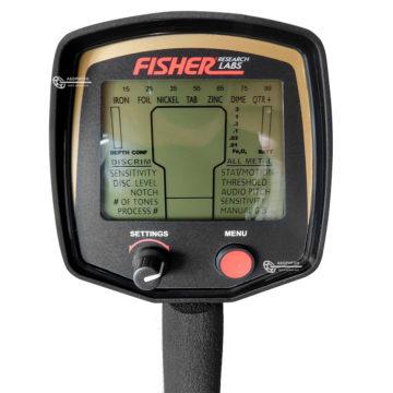 Металлоискатель Fisher F75 дисплей и дискриминация