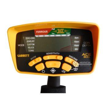 Металлоискатель Garrett ACE 300i блок управления идентификация