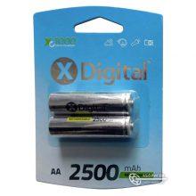 Аккумулятор AA X-Digital 2500 mAh